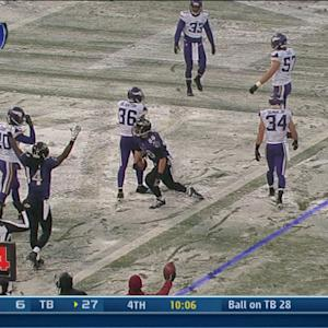 Baltimore Ravens tight end Dennis Pitta 1-yard TD catch