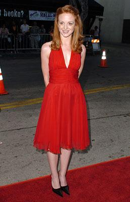 Jayma Mays at the Hollywood premiere of Dreamworks' Red Eye