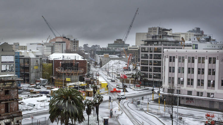 Winter storm disrupts air traffic in New Zealand