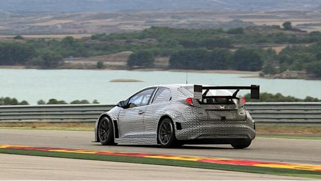 WTCC - Honda spend four days of testing in Barcelona