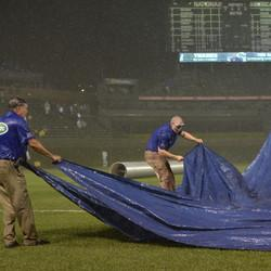 Cubs Blame Epic Tarp Fail Blamed On Obamacare, Sources Say