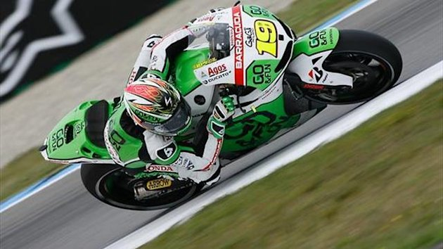MotoGP Assen: Bautista fastest as Marquez crashes