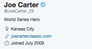 "Joe Carter Responds to Drake Using His Photo as the ""Back to Back"" Cover Art"