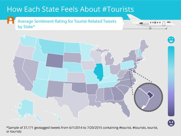 Which Cities Hate Tourists the Most?