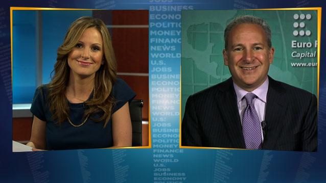 Peter Schiff Takes Aim at Krugman Over Inflation