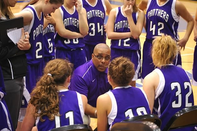 Bloomington South continued to run a traditional offensive set in a 107-2 win — BSouthLadyHoops.com