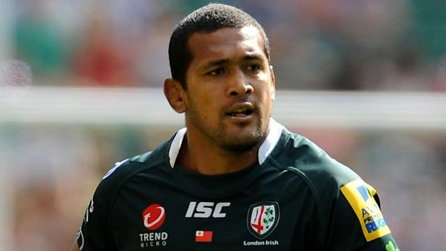 London Irish number eight Chris Hala'ufia
