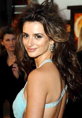 Penelope Cruz at the Hollywood premiere of Paramount Pictures' Sahara