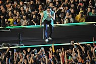 South Korean singer Park Jae-Sang, also known as Psy, performs during his free concert in Seoul on October 4, 2012. Psy brought his hit &quot;Gangnam Style&quot; home Thursday with a raucous free concert in Seoul, capping a month of global chart success that turned the chubby 34-year-old into a national hero