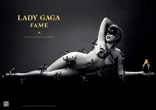WOW! Check Out the Campaign for Lady Gaga's New Fragrance 'Fame'