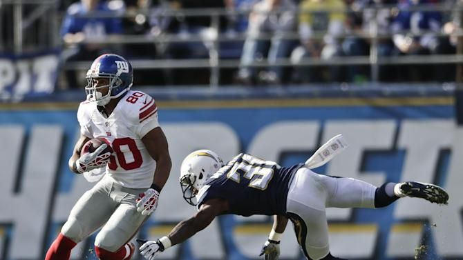 Giants' Cruz out with concussion and sprained knee