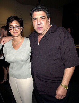 Vincent Pastore at the New York premiere of Paramount's The Score