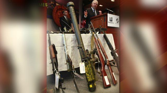 Surface-to-air missile tube turns up at Seattle gun buyback