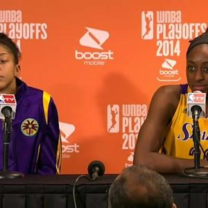 Postgame: Parker and Ogwumike
