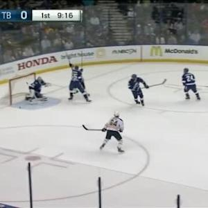 Andrei Vasilevskiy Save on Matt Moulson (10:46/1st)