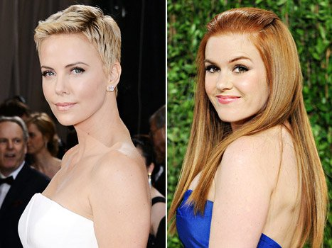 Charlize Theron Jokes to Isla Fisher at Oscars: I&#39;m Going to Punch You in the Face!