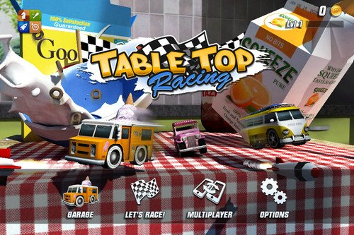 APP OF THE DAY: Table Top Racing review (iPhone). App of the day, Table Top Racing, iPhone apps, iPad apps 0