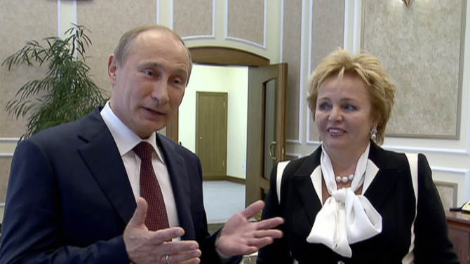 Russia media compassionate about Putin's divorce