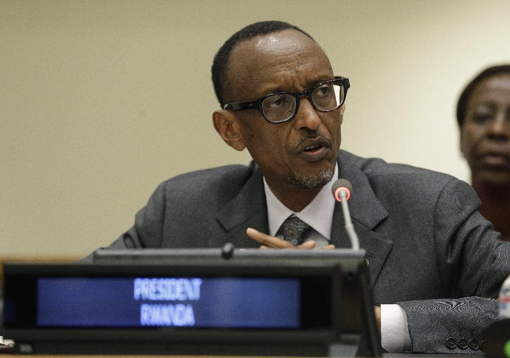 Rwanda's Kagame heads to France - but for UN meeting