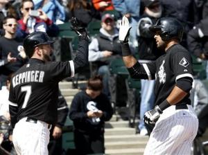 Rios homers as White Sox beat Indians 3-2