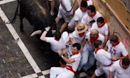 Brits Gored During Pamplona Bull Running