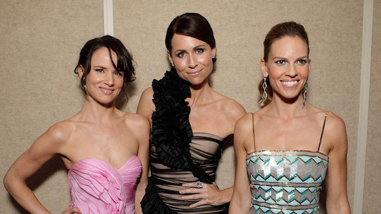 Conviction LA Premiere 2010 Juliette Lewis Minnie Driver Hilary Swank