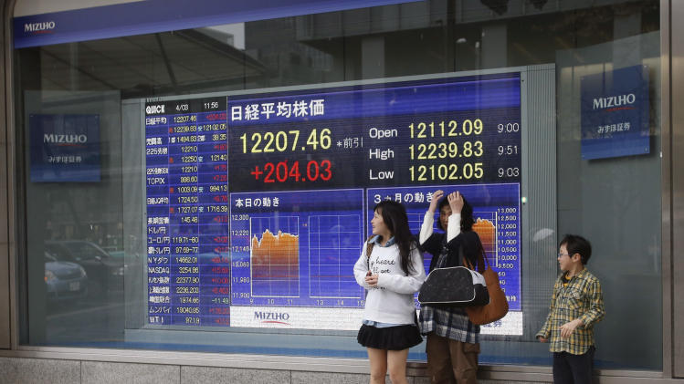 Asia stock markets fall on weak US economic data