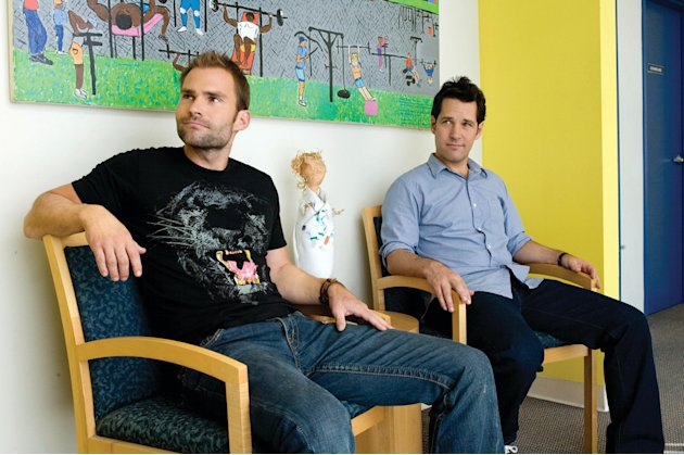 Seann William Scott Paul Rudd Role Models Production Stills Universal 2008