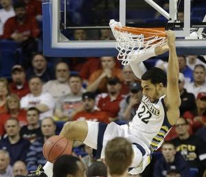 Marquette escapes Davidson, 59-58, in NCAA tourney