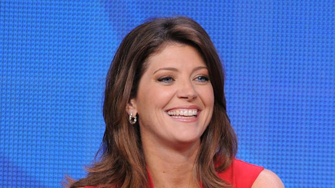 """FILE - This July 29, 2012 file photo shows Norah O'Donnell, host of """"CBS This Morning"""" participating in the CBS News TCA panel in Beverly Hills, Calif. O'Donnell jumped to CBS last year after more than a decade at NBC News. (Photo by Jordan Strauss/Invision/AP, File)"""