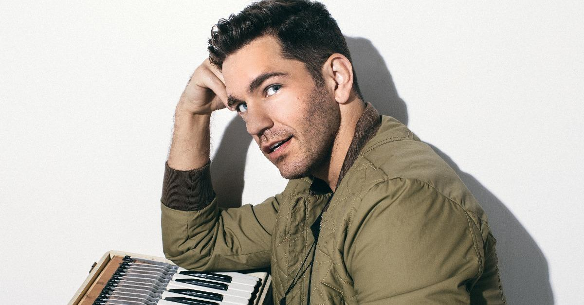 Andy Grammer Talks Exclusively w Lyndsey Parker!