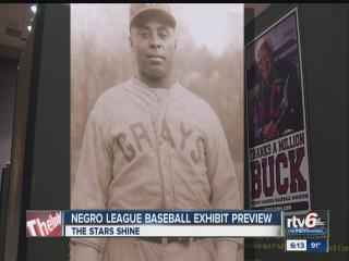 Negro League baseball exhibit on display for Black Expo