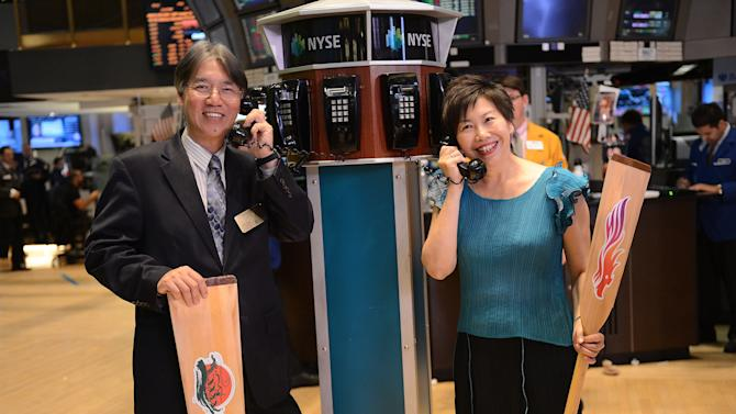 22nd Annual Hong Kong Dragon Boat Festival Executives Visit The New York Stock Exchange