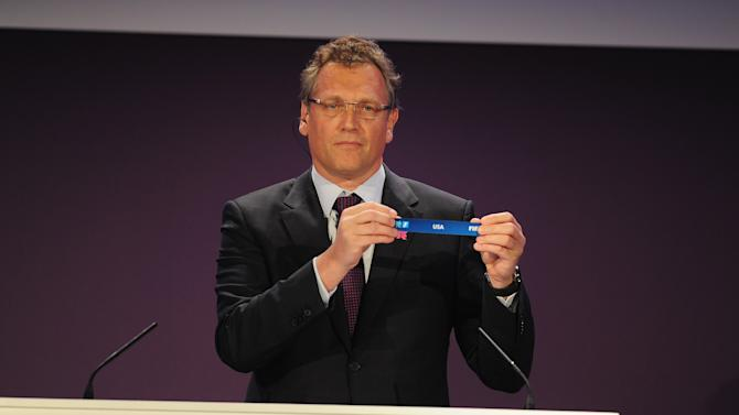 Official Draw for the London 2012 Olympic Football Tournament