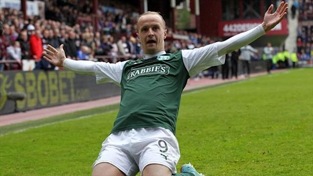 Leigh Griffiths has been a revelation for Hibernian this season