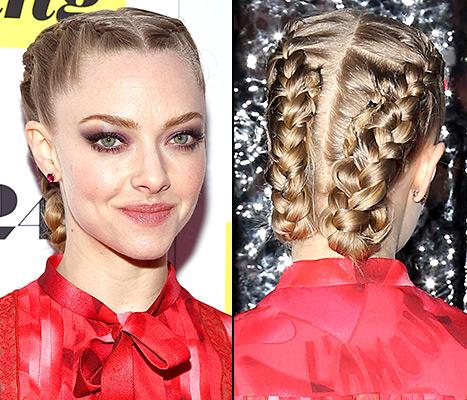Amanda Seyfried's Intricate, Double Braid Updo: Tips From Her Hair Stylist!