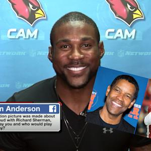 Arizona Cardinals cornerback Patrick Peterson sits down with 'Total Access'