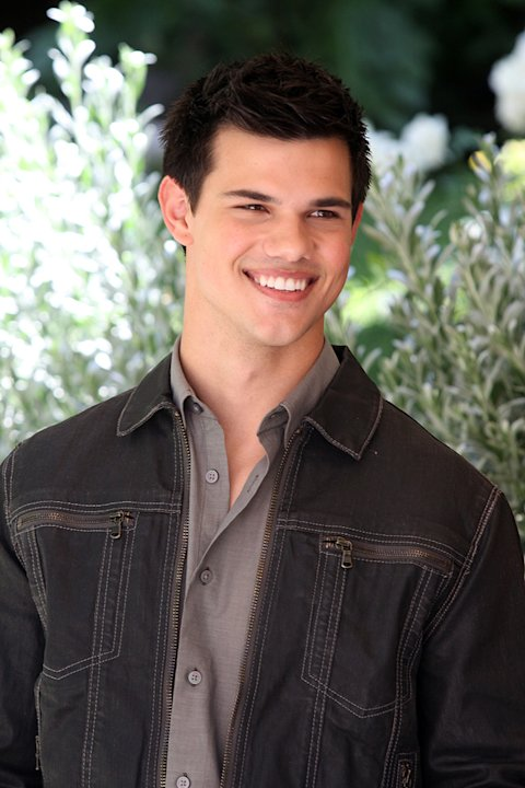 Twilight Saga Eclipse Rome Photocall 2010 Taylor Lautner