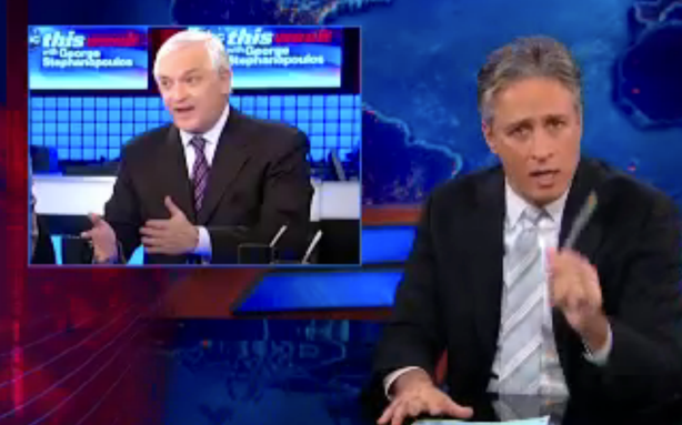The Daily Show Was Sort of Made for the Petraeus Scandal