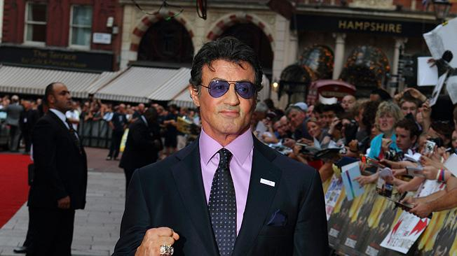 The Expendables UK Premiere 2010 Sylvester Stallone
