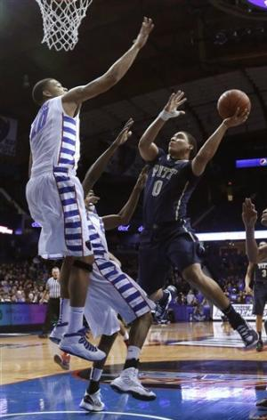 No. 20 Pitt shoots 72 percent in win over DePaul