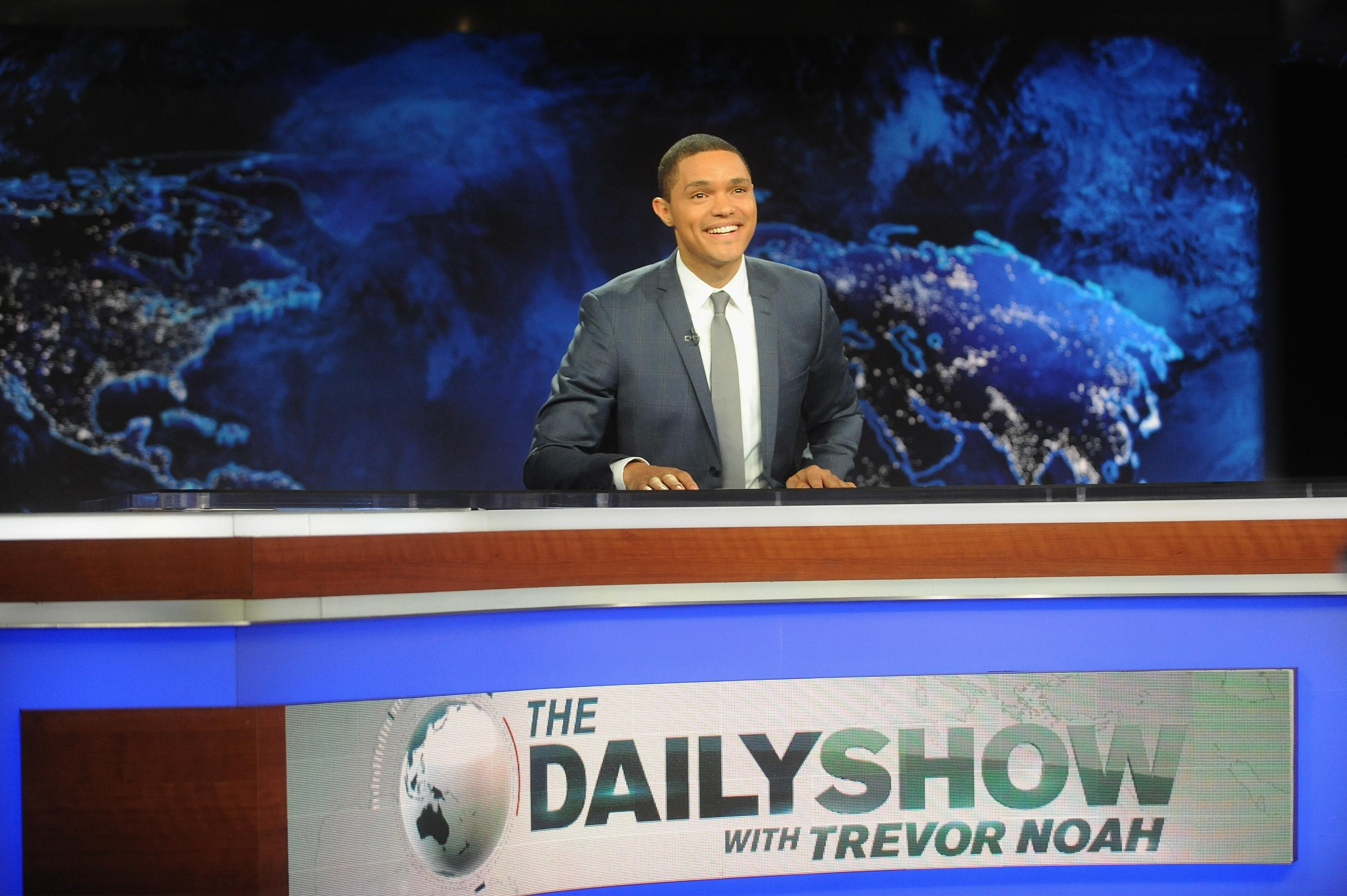 'The Daily Show' Unveils 'Trumpire'