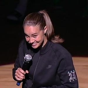 Becky Hammon's Retirement Ceremony
