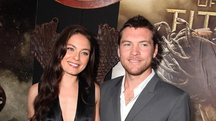 Clash of the titans LA premiere 2010 Sam Worthington Alexa Davalos