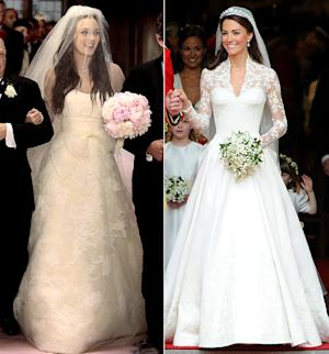 Which Royal Bride's Look Was Better: Blair Waldorf or Kate Middleton?