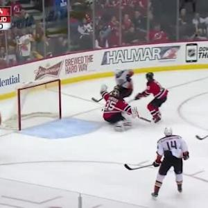 Cory Schneider Save on Ryan Getzlaf (09:08/3rd)
