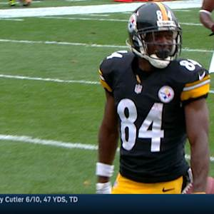 Week 4: Pittsburgh Steelers wide receiver Antonio Brown highlights