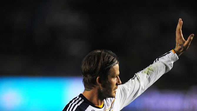 MLS: Playoffs-New York Red Bulls at Los Angeles Galaxy