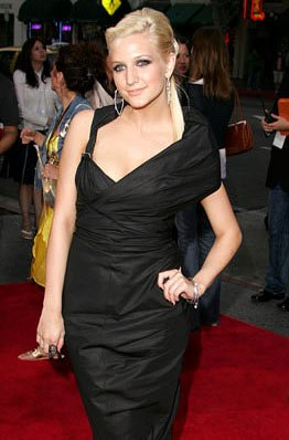 Ashlee Simpson at the Hollywood premiere of Lions Gate Films' Undiscovered