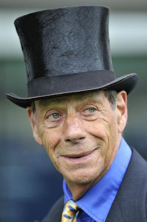 FILE - This is a June 15, 2011 file photo of race horse trainer Sir Henry Cecil. Cecil, one of British horse racing's most successful trainers with 25 British Classic winners, has died. it was announced Tuesday June 11, 2013. He was 70. Cecil's greatest horse in his 44 years as trainer was Frankel, who retired last year after winning all 14 of his races. (AP Photo/Rebecca Naden/PA, File) UNITED KINGDOM OUT